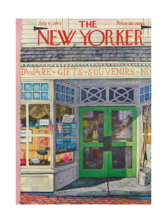 The New Yorker Cover - July 8, 1974 Giclee Print by Albert Hubbell