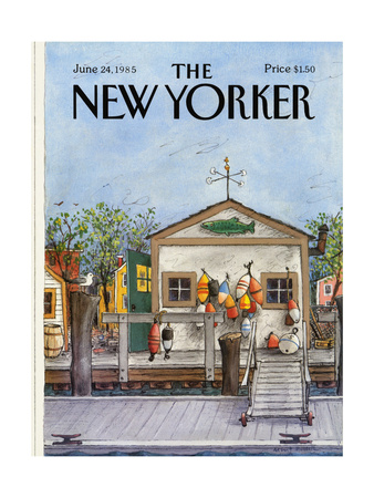 The New Yorker Cover - June 24, 1985 Giclee Print by Albert Hubbell