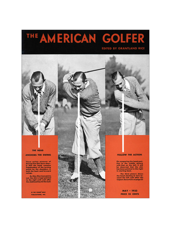 The American Golfer May 1932 Giclee Print