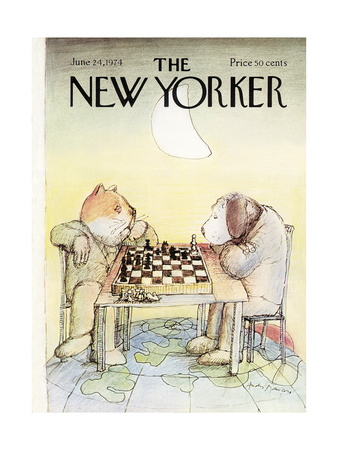 The New Yorker Cover - June 24, 1974 Giclee Print by Andre Francois
