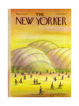 The New Yorker Cover - November 13, 1978 Giclee Print by Eugène Mihaesco