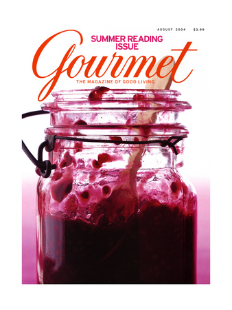 Gourmet Cover - August 2004 Giclee Print by Romulo Yanes