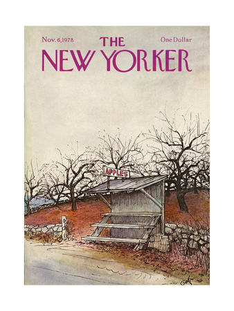 The New Yorker Cover - November 6, 1978 Giclee Print by Arthur Getz