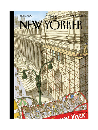 New Yorker Cover - September 19, 2011 Giclee Print by David Macaulay