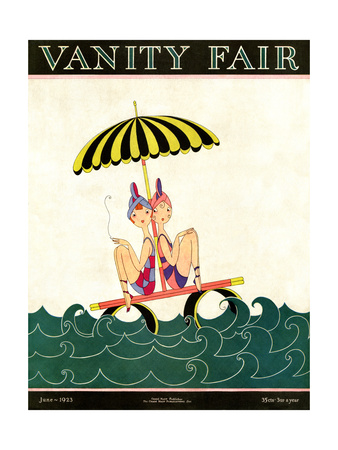 Vanity Fair Cover - June 1923 Giclee Print by A. H. Fish