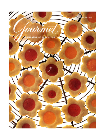 Gourmet Cover - October 1991 Giclee Print by Romulo Yanes