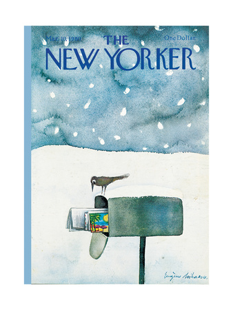 The New Yorker Cover - March 10, 1980 Giclee Print by Eugène Mihaesco