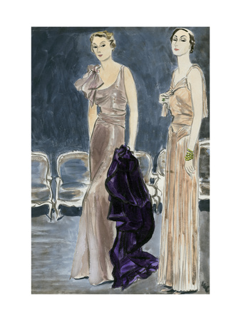 "Vogue - January 1933 Giclee Print by Carl ""Eric"" Erickson"