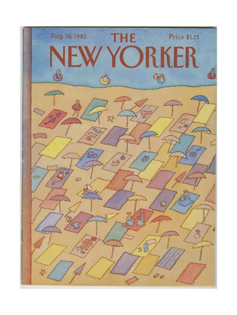 The New Yorker Cover - August 16, 1982 Giclee Print by Lonni Sue Johnson