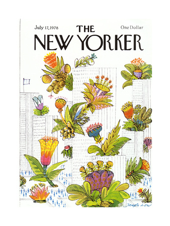 The New Yorker Cover - July 17, 1978 Giclee Print by Joseph Low