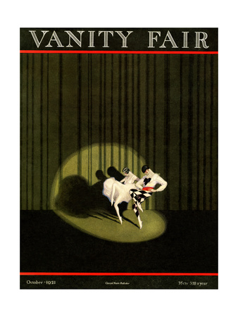 Vanity Fair Cover - October 1921 Giclee Print by William Bolin
