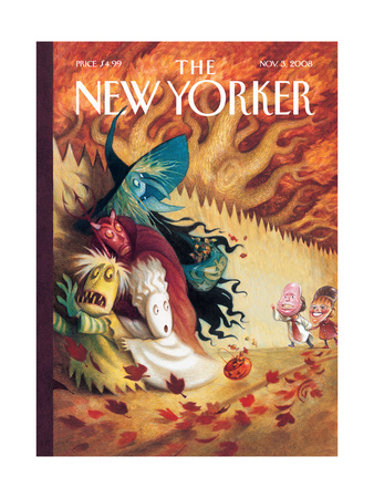 The New Yorker Cover - November 3, 2008 Regular Giclee Print by Carter Goodrich