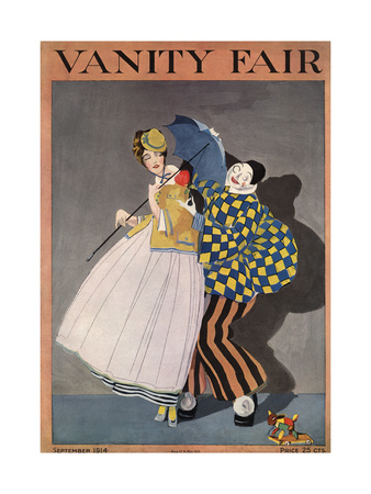 Vanity Fair Cover - September 1914 Giclee Print by  Rabajoi