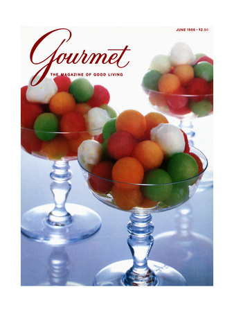 Gourmet Cover - June 1986 Giclee Print by Romulo Yanes