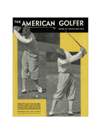 The American Golfer November 1932 Giclee Print