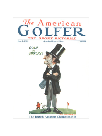 The American Golfer June 2, 1923 Giclee Print by James Montgomery Flagg