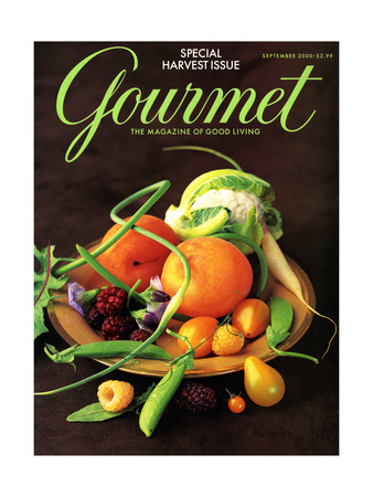 Gourmet Cover - September 2000 Giclee Print by Romulo Yanes