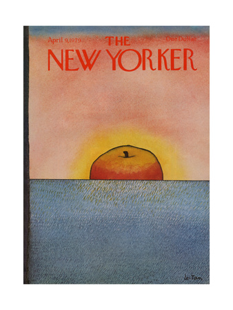 The New Yorker Cover - April 9, 1979 Giclee Print by Pierre LeTan