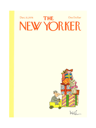 The New Yorker Cover - December 11, 1978 Giclee Print by Arnie Levin