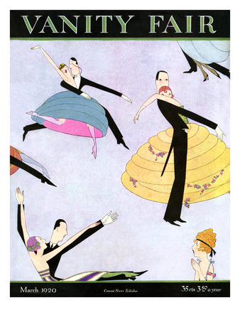 Vanity Fair Cover - March 1920 Giclee Print