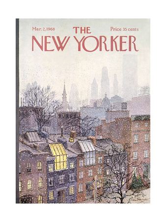 The New Yorker Cover - March 2, 1968 Giclee Print by Albert Hubbell