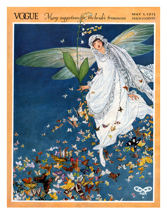 Vogue Cover - May 1913 Giclee Print by George Wolfe Plank