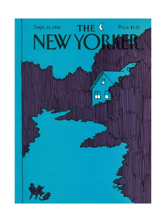 The New Yorker Cover - September 21, 1981 Giclee Print by Arthur Getz