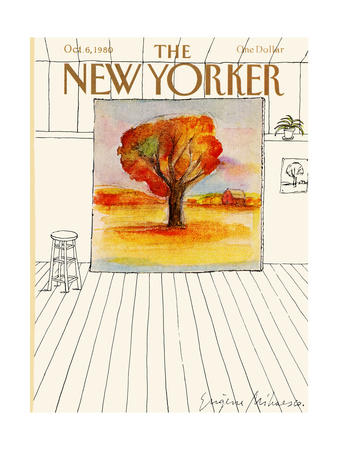 The New Yorker Cover - October 6, 1980 Giclee Print by Eugène Mihaesco