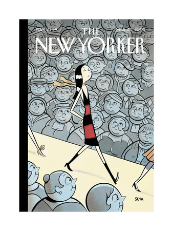 The New Yorker Cover - March 20, 2006 Giclee Print by  Seth