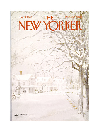 The New Yorker Cover - January 4, 1969 Giclee Print by Albert Hubbell