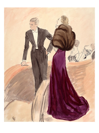 "Vogue - September 1936 Giclee Print by Carl ""Eric"" Erickson"
