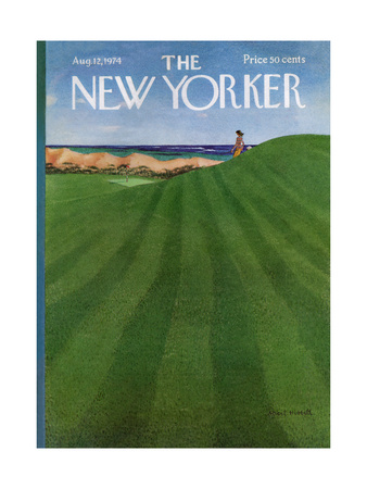 The New Yorker Cover - August 12, 1974 Giclee Print by Albert Hubbell
