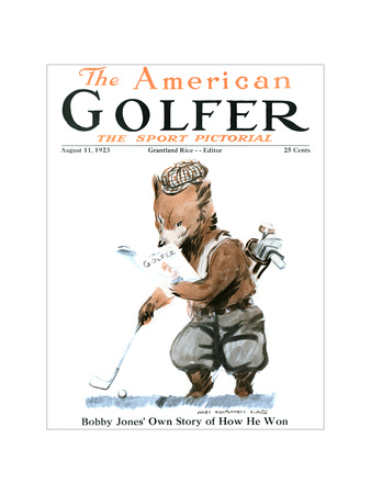 The American Golfer August 11, 1923 Giclee Print by James Montgomery Flagg