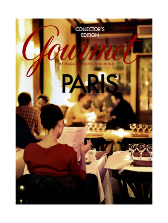 Gourmet Cover - March 2001 Giclee Print by John Kernick