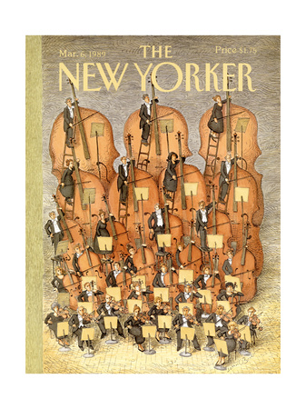 The New Yorker Cover - March 6, 1989 Giclee Print by John O'brien