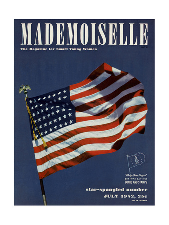 Mademoiselle Cover - July 1942 Giclee Print by Luis Lemus