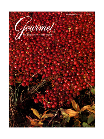 Gourmet Cover - November 1982 Giclee Print by Lans Christensen