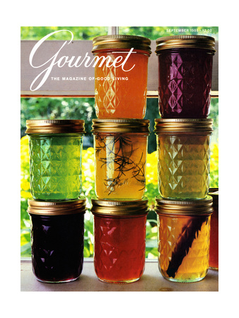 Gourmet Cover - September 1985 Giclee Print by Romulo Yanes