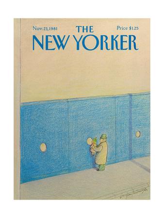 The New Yorker Cover - November 23, 1981 Giclee Print by Eugène Mihaesco