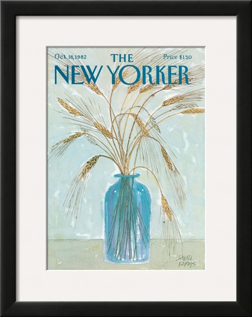 The New Yorker Cover - October 18, 1982 Framed Giclee Print by Joseph Farris