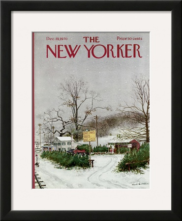 The New Yorker Cover - December 19, 1970 Framed Giclee Print by Albert Hubbell