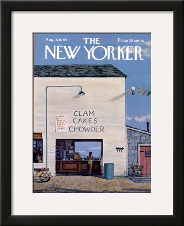 The New Yorker Cover - August 16, 1969 Framed Giclee Print by Albert Hubbell