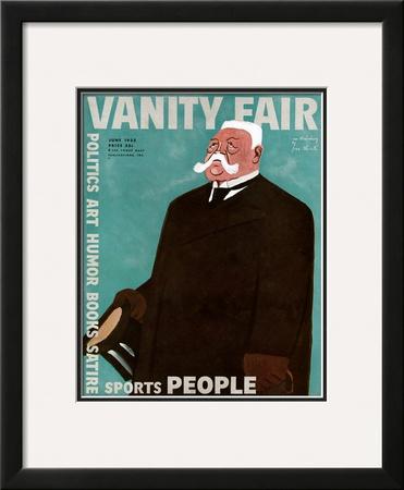 Vanity Fair Cover - June 1932 Framed Giclee Print by  Oberle