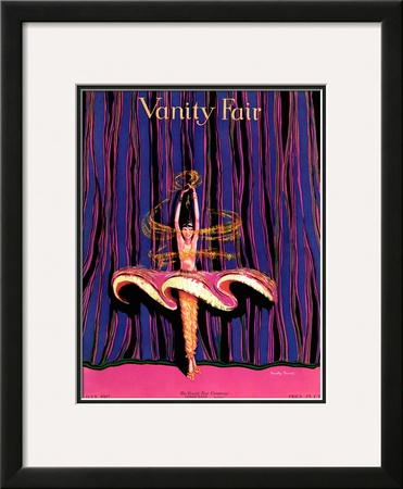 Vanity Fair Cover - July 1917 Framed Giclee Print by Dorothy Ferriss