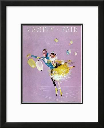 Vanity Fair Cover - February 1917 Framed Giclee Print by Dorothy Ferriss