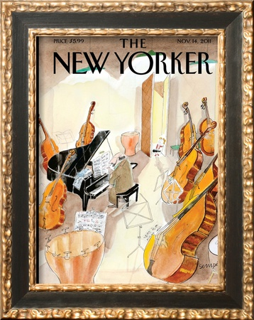 The New Yorker Cover - November 14, 2011 Posters by Jean-Jacques Sempé