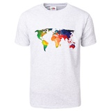 World Wire Map 1 T-Shirt T-shirts