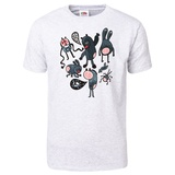Crazy Cartoon Monsters T-Shirt Shirts