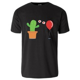 Cactus in Foolish Love with a Balloon T-Shirt T-Shirt
