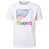 Toronto Watercolor Street Map T-Shirt T-shirts